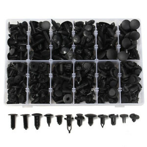 350pcs Plastic Car Repair Rivets Fastener Screws Push Pins Retainers Assortment