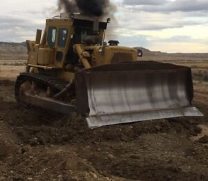 Cat D9h Dozer Kelly Ripper Low Hours On Tracks Ac Heat