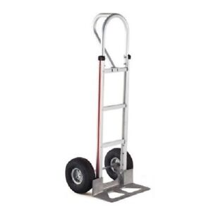 Magliner Hand Truck 52 Tall With Vertical Loop Handle 18 Nose