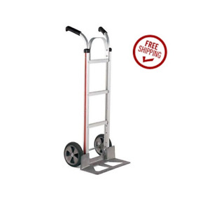 Magliner Hand Truck With Double Grip Handle 18 Nose 10 Round Tread Tire