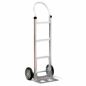 Magliner Hand Truck With Loop Handle 14 Magnesium Hard Nose 8 Tire 500 Cap