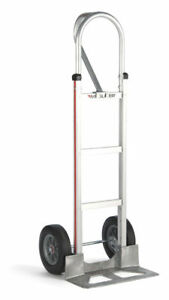 Magliner 52 Tall Hand Truck Loop Handle 18 Nose 10 Semi pneumatic Tire
