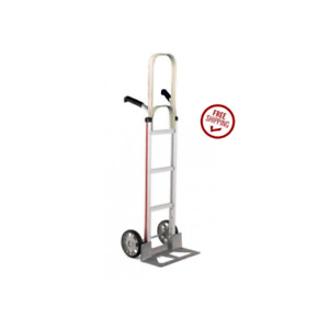 Magliner Double Grip Handle 18 Nose 8 Tire Hand Truck 500 60 Tall Assembled