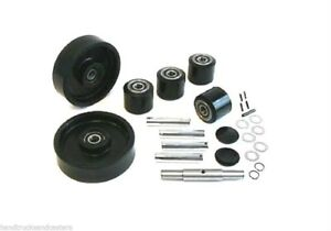 American Lifts Little Mule Pallet Jack Wheel Kit complete Includes All Parts