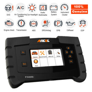 Fx4000 Obd2 Scanner Full System Auto Diagnostic Tool Oil Epb Reset Code Reader