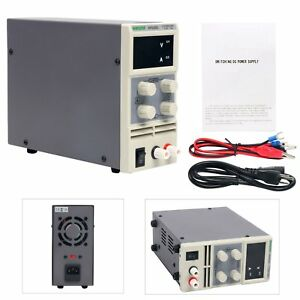 Variable Linear Adjustable Lab Dc Bench Power Supply 0 30v 0 5a Heavy Duty