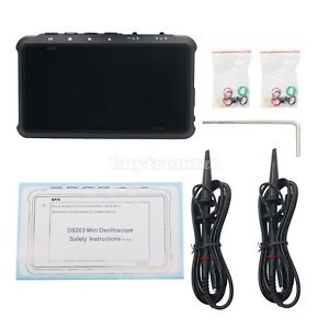 Arm Dso203 Quad Pocket 4 Channel Digital Oscilloscope With Aluminum Case