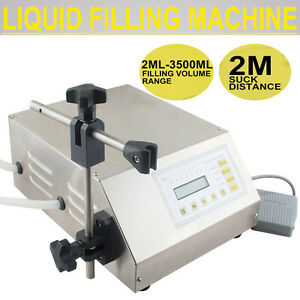 Digital Control Water Liquid Filling Filler Machine Micro computer Bottling Pump