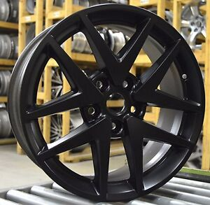 17 Ford Fusion 2010 2011 2012 Factory Oem Rim Wheel 3797 3979 Matte Black Set