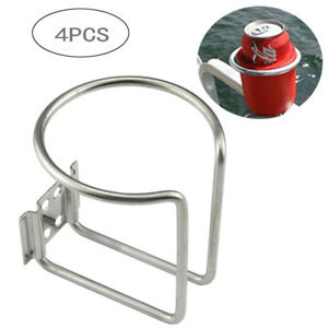 4 stainless steel boat ring cup drink holder for marine yacht truck world Cup