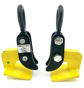 Two 2 Cm Camlok Ch2 l Horizontal Plate Clamps Wll 4400lbs pr New