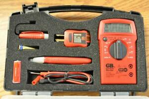 Gardner Bender Home Electrical Test Kit Multimeter Telephone Tk 5hc Fast B31