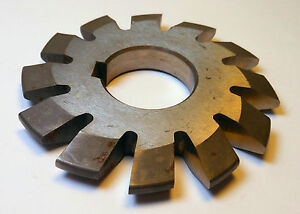 Single Involute Gear Cutter 7 Pitch 20 No 1 Hss 1 Arbor