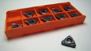 Hertel Carbide Threading Inserts 16il 18 Unk Hg225tr 10 Pcs