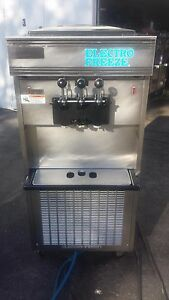 2003 Electrofreeze 66tf Soft Serve Ice Cream Frozen Yogurt Machine Warranty