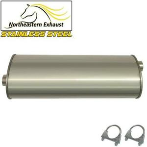 Stainless Steel Exhaust Muffler Fits 2001 2005 Ford Explorer Sport Trac