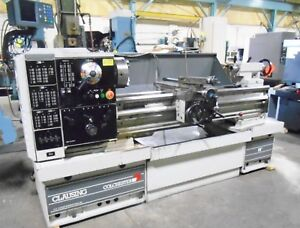 1999 Clausing Colchester 15 X 50 Gap Type Engine Lathe With Dro And 23 Gap