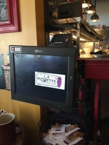 Aloha Ncr Pos Restaurant System With 3 Terminals And A Cash Drawer