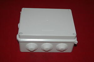 5pcs Plastic Waterproof Electrical Junction Box 150 110 70mm Ip65