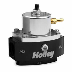 Holley 12 880 Return Style Fuel Pressure Regulator 6an Boost Reference 1 1