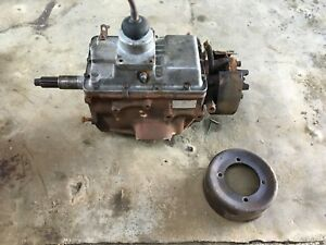 Chevy C60 Truck Stick Shift Manual 5 Speed Transmission With Pto