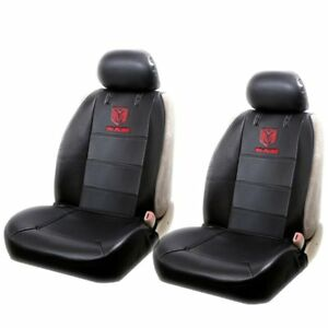 New 2 Elite Style Car Truck Synthetic Leather Front Seat Covers For Dodge Ram