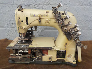 Industrial Sewing Machine Union Special 54 400 J with Rear Puller 12 Needle