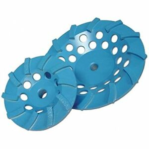 Diamond Products Core Cut 90359 7 inch By 5 8 inch 11 Star Blue Spiral Turbo Cup