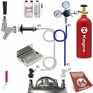 Single Tap Ultimate Door Mount Kegerator Keg Tap Conversion Kit