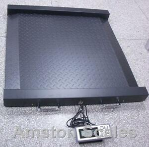 2000 X 0 5 Lb Digital Drum Scale 42x40 Heavy Duty Dual Ramps Wheelchair Shipping