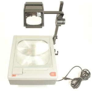 3m 9000 Series Overhead Projector 9100 With Original Box Operators Manual
