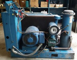 50hp Quincy Qsb 50 Screw Air Compressor