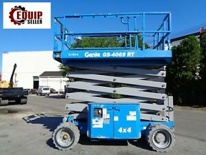 2012 Genie Gs 4069 Electric Scissor Man Arial Boom Lift 40ft Height