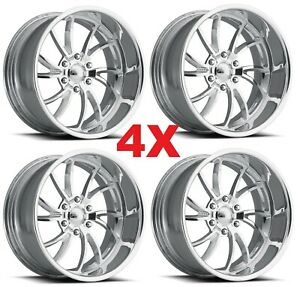 17 Pro Wheels Twisted Ss 6 Set Of 4 Billet Rims Billet Dub Us Mags