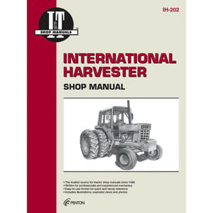 Service Manual Case international Tractor Ih 202 1466 1468 1486 1566 1568