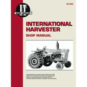 Service Manual Case international Tractor 1026 1066 1086 454 474 656 666 686