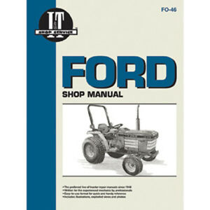 Service Manual Ford New Holland Tractor Fo 46 1120 1220 1320 1520 1720 1920 2120