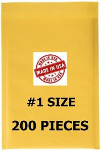 200 1 7 25x12 Bubble Mailers Padded Envelopes Bags Usa Free Shipping 1