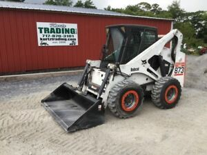 2000 Bobcat 873g Skid Steer Loader W Cab