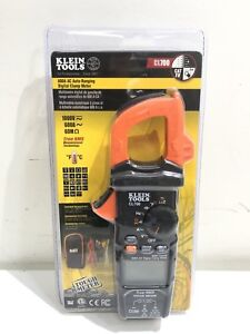 Klein Tools 600a Ac Auto ranging Digital Clamp Meter cl700 brand New