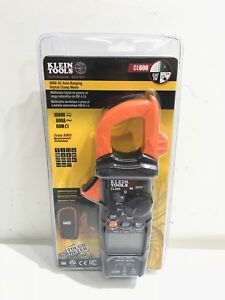 New Klein Tools Cl600 Ac Auto Ranging 600 Amp Digital Clamp Meter