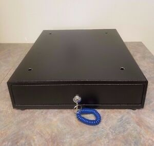 Apg Vp320 bl1416 Vasario Series Standard duty Painted front Cash Drawer With Key