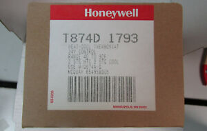 Honeywell Heat cool Thermostat T874d 1793 2 Stage