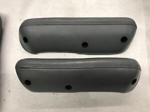 68 77 Early Ford Bronco Door Armrests Arm Rests Light Gray