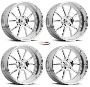 19 Pro Wheels Rims Dragline Forged Billet Aluminum Line Specialties Mag