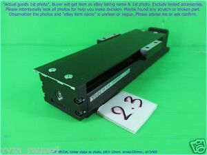Thk Kr33a Linear Stage As Photo Pitch 10mm Stroke100 Sn 5469