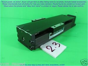 Thk Kr33a Linear Stage As Photo Pitch 10mm Stroke100 Sn 0347 Promotion 1