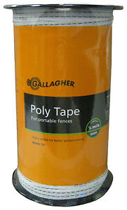 Electric Wire Fence Poly Tape 1 2 x656