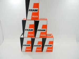 6 Pack Fram Ph3429 Old Vintage Style Oil Filter Nos Pontiac Oldsmobile Buick