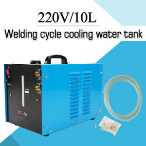 220v 10l Powercool Ct 10 Tig Welder Torch Water Cooler Cooling Welding By Grele
